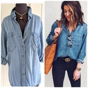 Chambray top from 4our Dreamers